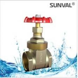 S5110 Brass aluminium handle Gate valve