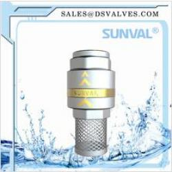 S4182 Brass Foot Valve with net