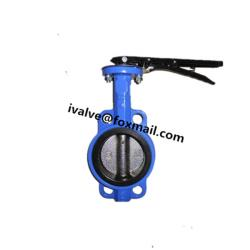 Cast Iron Butterfly Valve Wafer Type