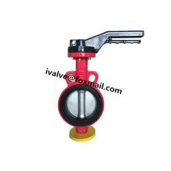 Wafer Butterfly Valve with Lever