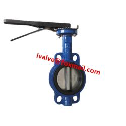 Cast Iron Lugged Wafer Butterfly Valve