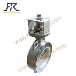Stainless Steel Ceramic Lined Butterfly Valve