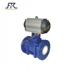 Pneumatic Ceramic Lined Ball Valve