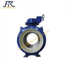 Full bored ball valve