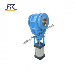 Pneumatic Ceramic Back Forth Sliding Gate Valve