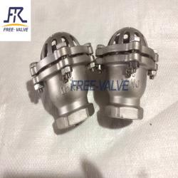 Stainless Steel Bottom Valve Lift Check Valve Screwed Foot Valve
