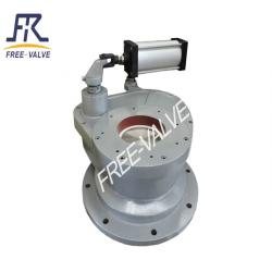 Pneumatic Swing ceramic feed valve