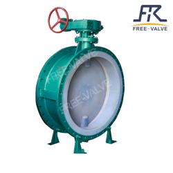 Wafer Type Fluorine Lined Butterfly Valve