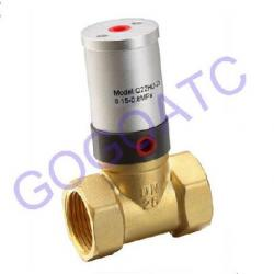 2/2 Way Piston Operated Pneumatic Air Control Valve