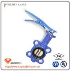 HIG-147 pvc motorized butterfly valve