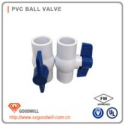 HIG-001 pvc ball valve with flange