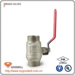 HIG-03 stem water meter brass gate valve