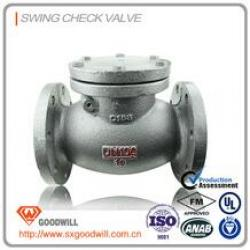 HIG-022 butterfly swing check valve