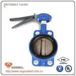 HIG-029 cast iron handle butterfly valve