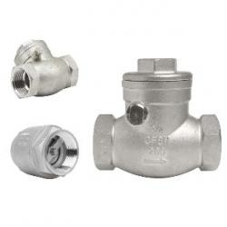 SS304 stainless steel swing check valve