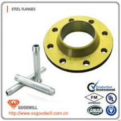 ANSI b16.5 carbon steel forged flat flange