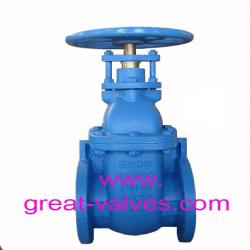 BS5163 metal gate valve NRS