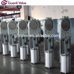 Air Actuated Knife Gate Valve