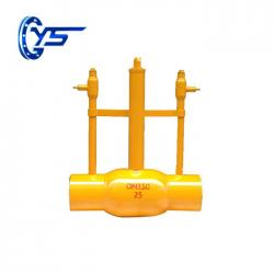 Oil And Gas Welded Ball Valve