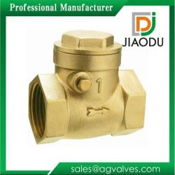 JD-G0264 adjustable female thread brass swing check valve