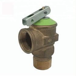 Brass Water Heater Pressure Relief Valve
