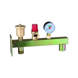 Brass Boiler Valve Set