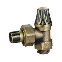 JD-217-J Antique Brass Manual Throttle Cast Iron Traditional Radiator Valves