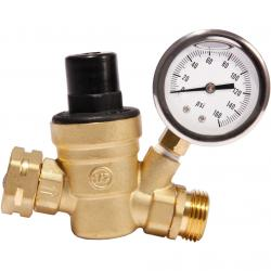 Brass Water Pressure Regulator Valve