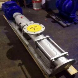 FG Stainless steel eccentric helical  screw pump