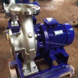 ISWH Stainless steel horizontal centrifugal water pump