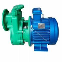 Plastic self priming chemical pump