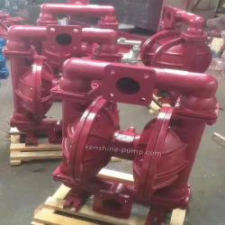 QBK pneumatic diaphragm sludge slurry mud pump