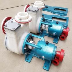 FZB Self priming fluoroplastic pump