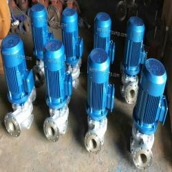 IHG Stainless steel vertical chemical transfer pump
