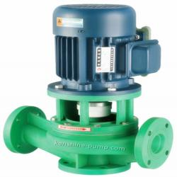 FPL Vertical pipeline polypropylene centrifugal pump