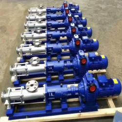 FG corrosion resistant stainless steel screw pump