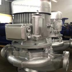 GW Vertical pipeline centrifugal not clogging pump