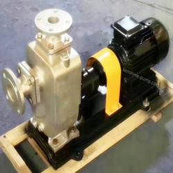 ZXP horizontal stainless steel self priming pump
