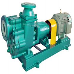 FZB Fluorine plastic liner self priming chemical pump