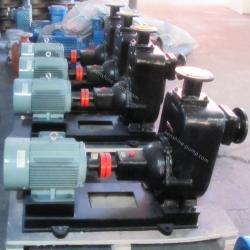 ZW Self priming sewage non blocking pump