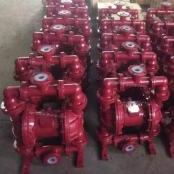 QBK cast iron lined with fluoroplastic pneumatic diaphragm pump