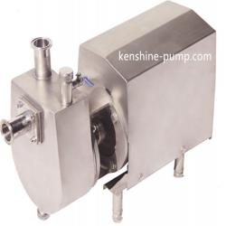 ZXB Stainless steel self priming sanitary  centrifugal pump