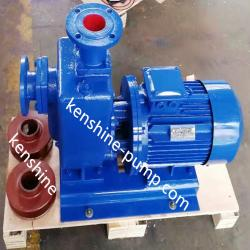 ZWL direct-coupled self priming sewage drainage pump