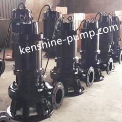 JYWQ automatic stir sewage submersible pump