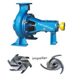 KS open impeller centrifugal pulp pump