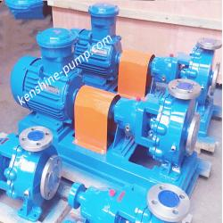 IHK-BW stainless steel chemical centrifugal pump with heat jacket