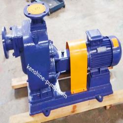 ZW horizontal self priming wastewater drainage pump
