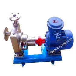 JMZ stainless steel self priming alcohol transfer pump