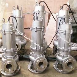 WQP Stainless steel immersible wastewater pump