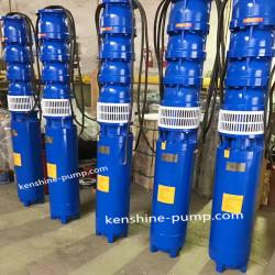 QJ well submersible multistage centrifugal water  pump